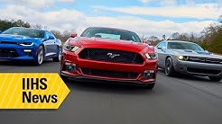 A range of ratings for American muscle cars - IIHS News