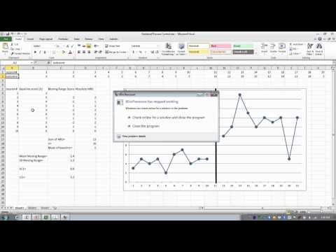How to Use Excel-Analyzing Single Subject Design Data-Statistical Process Control