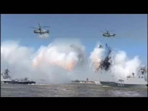 News Weapons Of War Russian Fleet Day In Sevastopol: Warships, Submarines vesves Vessels Power