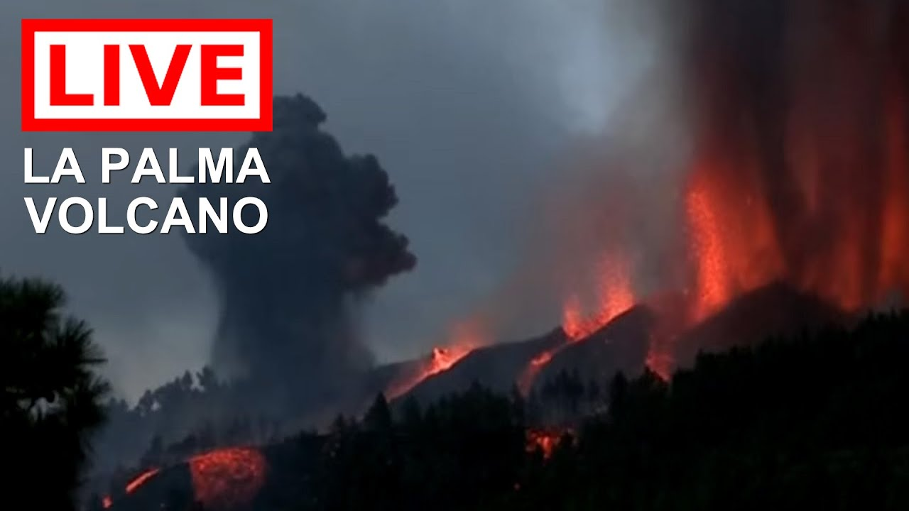 Download 🌎 LIVE: La Palma Volcano Eruption in the Canary Islands (Feed #1)