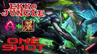 ONE SHOT EKKO JUNGLE (LEAGUE OF LEGENDS - RANKED)