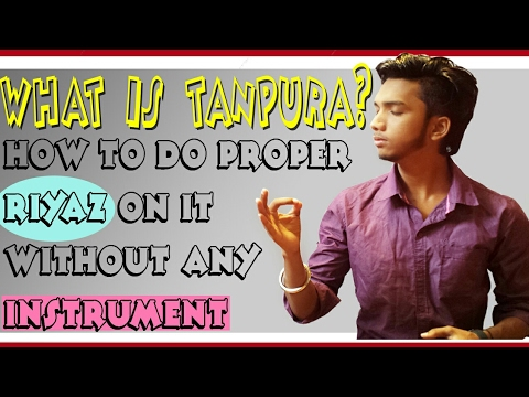 How to SIng/Riyaz On Tanpuraतानपुरा Use Mobile App & Electric Tanpura!MAke Ur Voice Effective/Surila