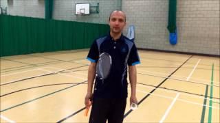 Badminton Fundamentals - Service