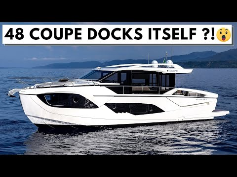 2021 WORLD PREMIERE: €770,000+ ABSOLUTE 48 COUPE Yacht Tour New Model