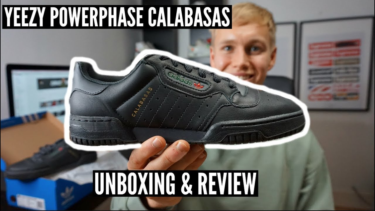 bbd1954bc8d YEEZY Powerphase Calabasas Unboxing   Review   On Foot - YouTube