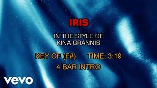 Kina Grannis - Iris (Karaoke)