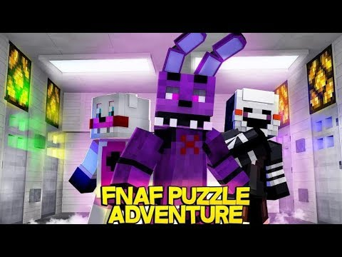 Minecraft FNAF: FNAF Puzzle Adventure (Minecraft FNAF Roleplay)