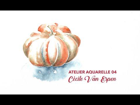Atelier Aquarelle 04 : Citrouille