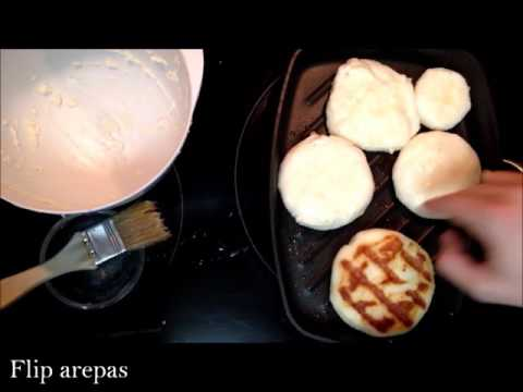 World Arepa Day: Arepa with Shredded Beef and White Cheese
