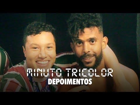 FluTV - Fluminense 3 x 0 Botafogo - Depoimentos com Marlon de repórter