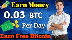 Earn 0.03 Bitcoin Per day For this site  || No investment 100% paying site in [Hindi]