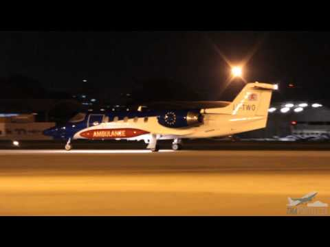 [SBFZ/ FOR] Pouso & Decolagem Learjet 35A LX-TWO DUCAIR - Lu