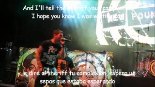 New Found Glory-Truck stop blues Lyrics y Subtitulos LIVE 2010