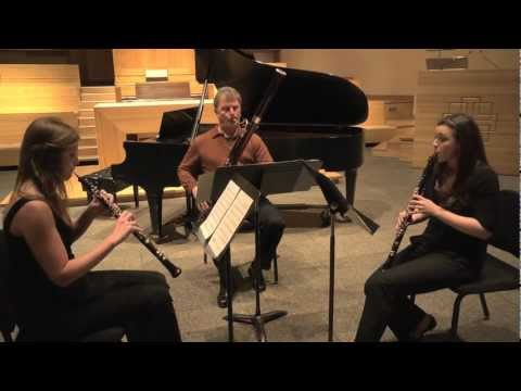 David L. Post's DIVERTIMENTO FOR REED TRIO (1995) (NY Premiere)