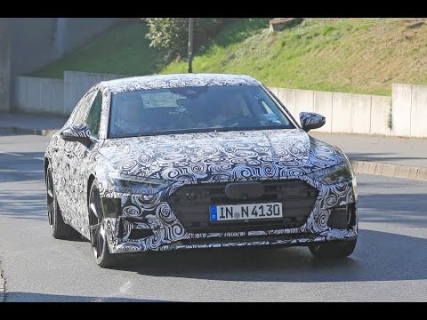 Car News New 2018 Audi S7 Spotted At The Nurburgring