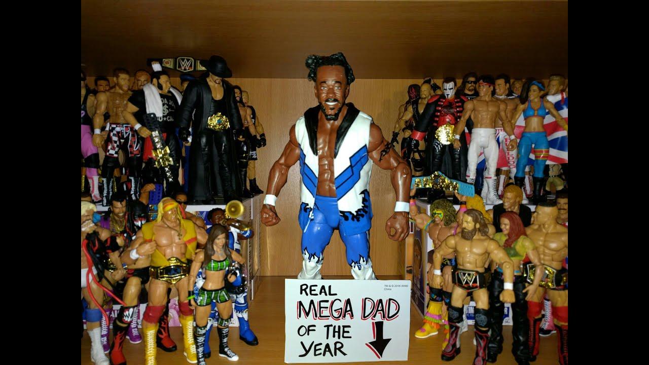 WWE Kofi Kingston wrestling figure Series 43 Mattel Elite