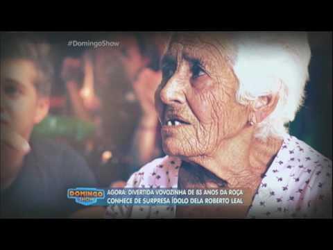 Emocionante: idosa de 83 anos conhece seu ídolo e rencontra irmã