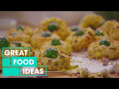 How To Make Pistachio Amaretti Biscuits | Food | Great Home Ideas