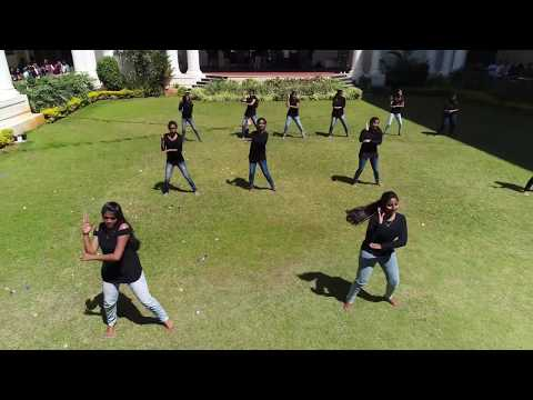 GAT - HYSTERESIS 2K18 (EEE) FlashMob (Drone + Cam Record) Full Video. Global Academy of Technology.