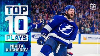 Top 10 Nikita Kucherov plays from 2018-19