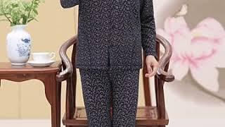 가을 긴바지 70대 할머니 옷 엄마 잠옷 겨울 수면 홈…