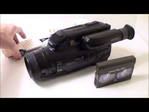 A First Look At A Sony Video 8 Camcorder From 1994 (CCD-FX630)