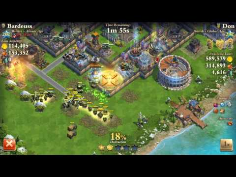 Dominations Level 201 Atomic Age vs Level 202 Global Age