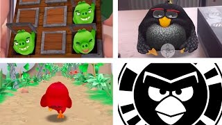 TOP 3 ANGRY BIRDS ACTION BIRD CODES - How To Use Bird Codes - Unlock Mini-Games (IOS/ANDROID)