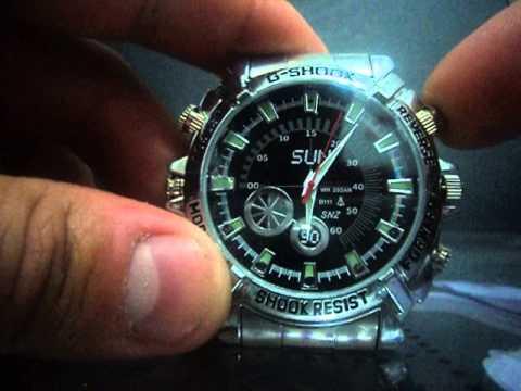 feef493c2f4 Vídeo manual do Relógio Espião - YouTube