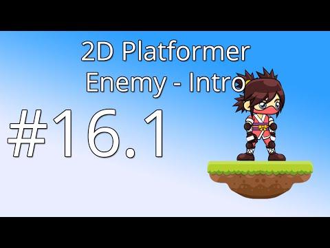 16.1: Unity 5 tutorial for beginners: 2D Platformer - Enemy intro