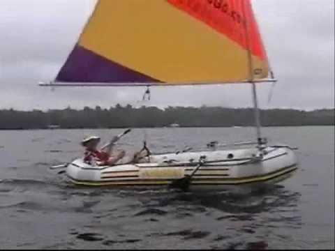 Intex Mariner with Sail Kit from SailboatsToGo.com - Inflatable Sailboat!