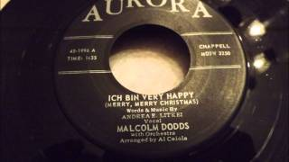 Malcolm Dodds - Ich Bin Very Happy (Merry, Merry Christmas) - A German Twist Song From Detroit?