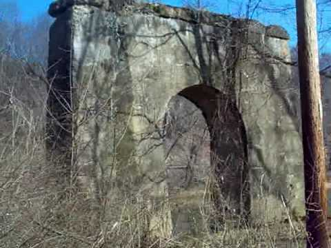 Abandoned Pittsburgh Harmony Butler  Railway Streetcar Line Ellwood City Pennsylvania