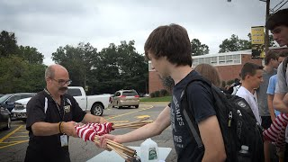 Cedar Grove Waves Honors, Remembers, and Educates with Heartfelt 9-11 Tribute