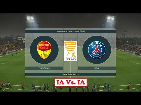US Orléans - Paris Saint-Germain [PES 2019] | Coupe De La Ligue (1/8ème De Finale) | IA VS. IA