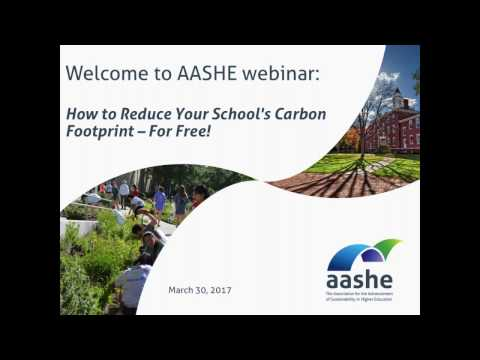 How to Reduce Your Schools Carbon Footprint   For Free!