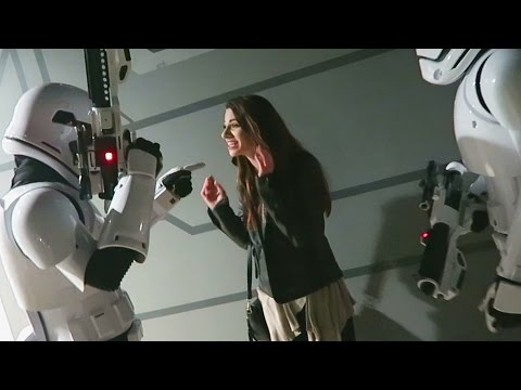 She Got Arrested By Stormtroopers: A Star Wars Story