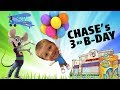 Chase's 3rd Birthday Party @ Chuck E  Cheese w  HUGE Present! + Juggle Bubbles