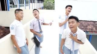 Terlatih Patah Hati THE RAIN feat ENDANK SOEKAMTI Cover CREW TKJ SMK PONTREN 2016