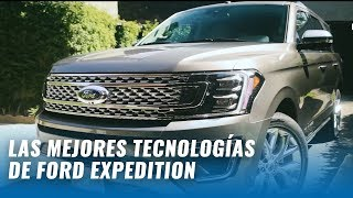 Ford Expedition Platinum 2018 - 14 cosas que DEBES saber