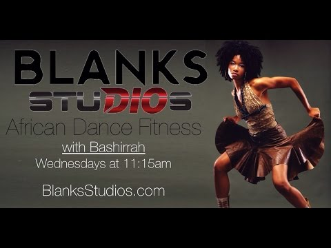 African Dance Fitness Beginner 10 min workout and trip to Africa in 2016!