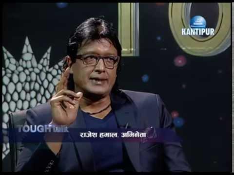 Rajesh Hamal in TOUGH talk with Dil Bhusan Pathak