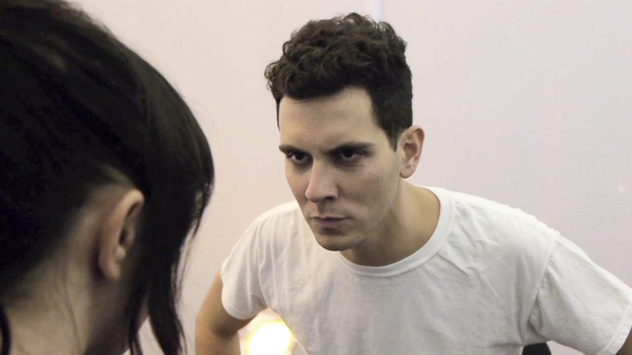 Cobra Starship: Backstage Staring Contest
