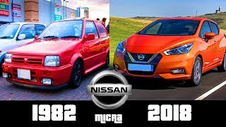 Nissan Micra - The Evolution (1982-2018)