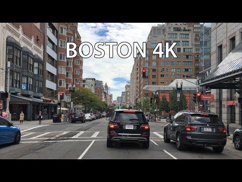 Boston 4K - Main Street Drive