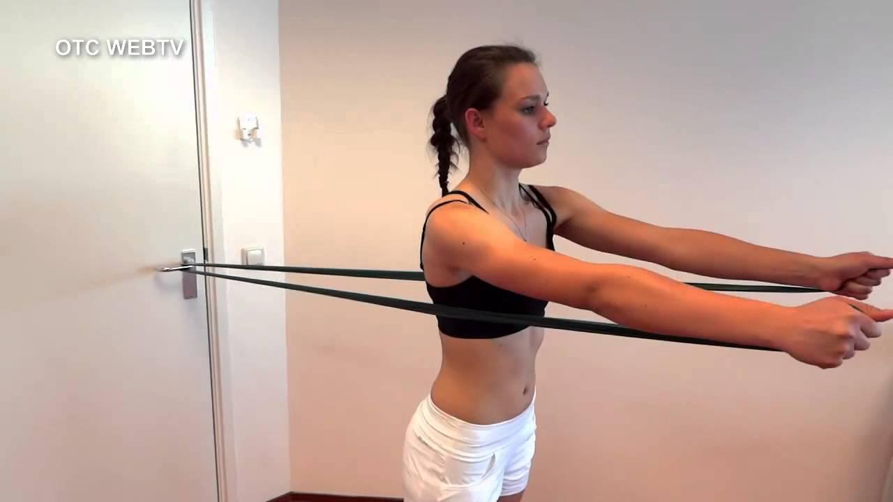 fysiotherapie schouder oefeningen