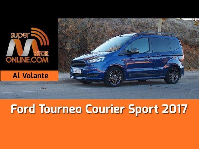 Ford Tourneo Courier 2017 / Al volante / Prueba dinámica / Review / Supermotoronline.com