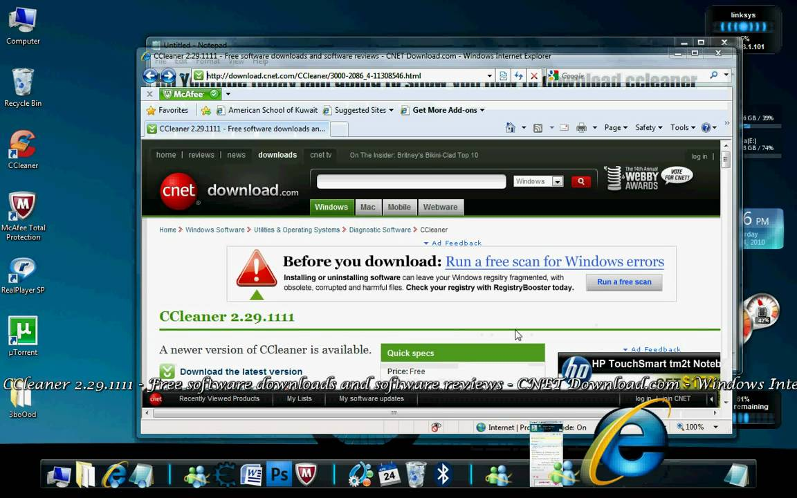 how to download ccleaner for free
