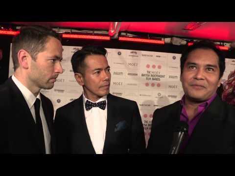 Sean Ellis, Jake Macapagal & John Arcilla Metro Manila   BIFA award  nominees