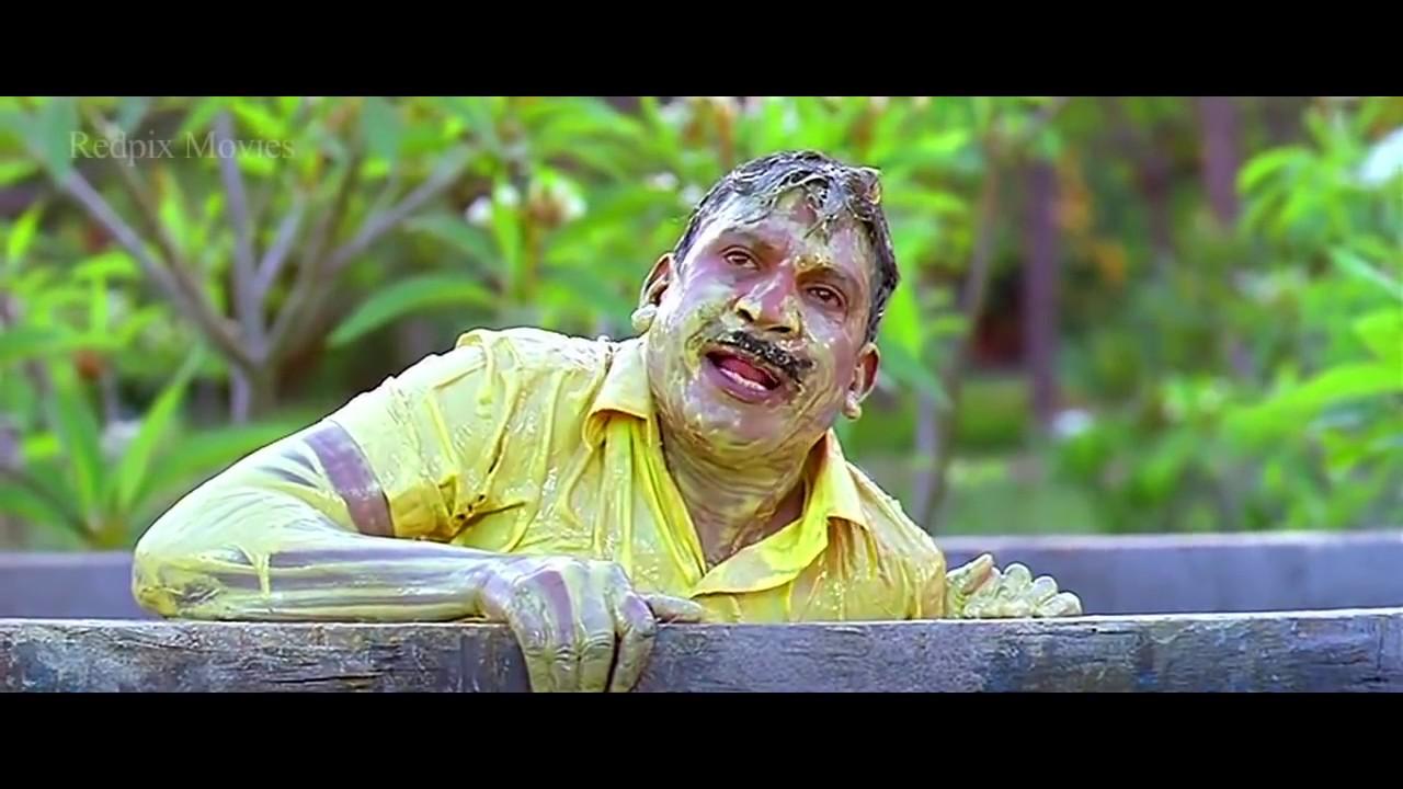 Vadivelu, Santhanam and Singamuthu Comedy From - Super hit Rajinikanth's Comedy